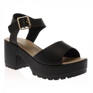 Platform Heel Sandal