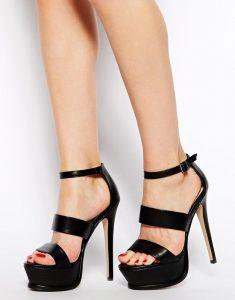Platform Heeled Sandals