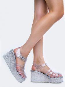 Platform Sandals Jelly