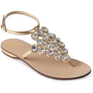 Rhinestone Thong Sandals