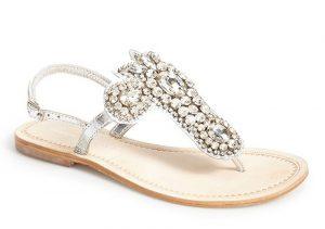 Rhinestone Wedding Sandals