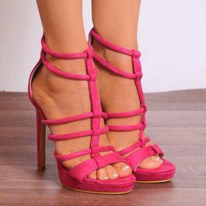 Strappy Pink Sandals