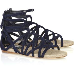 Suede Gladiator Sandals Images