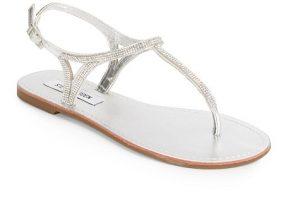 Thong Rhinestone Sandals