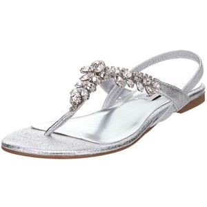 Thong Sandals Silver