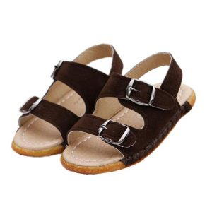Toddler Leather Sandals Photos