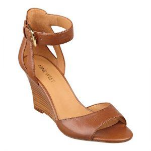 Wedge Ankle Strap Sandal