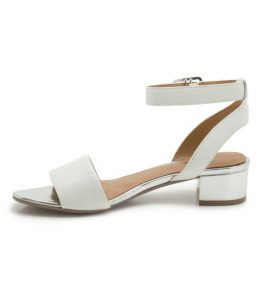 White Ankle Strap Sandals Pictures
