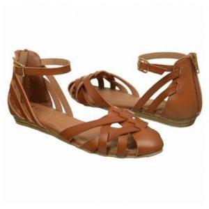 Womens Closed Toe Sandals Flat