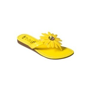 Yellow Flat Sandals Images