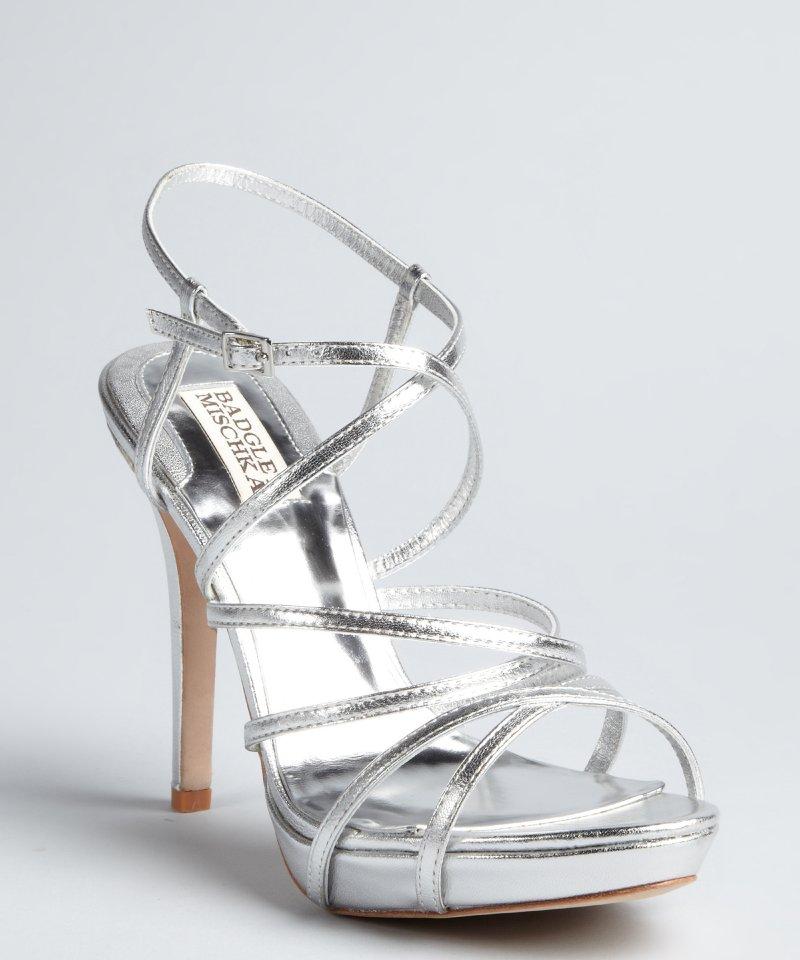 Silver Platform Sandals Craftysandals Com