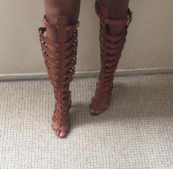 Wide Calf Gladiator Sandals