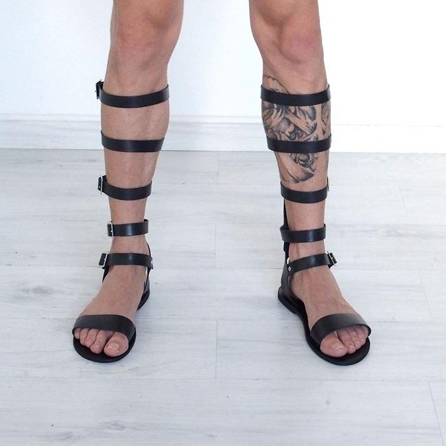 Men's Gladiator Sandals   CraftySandals.com
