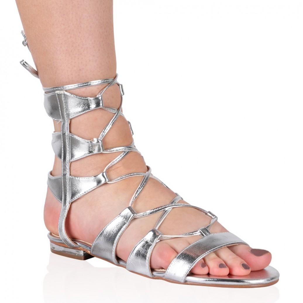 Flat Gladiator Sandals   CraftySandals.com