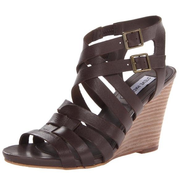 Brown Wedge Sandals Craftysandals Com