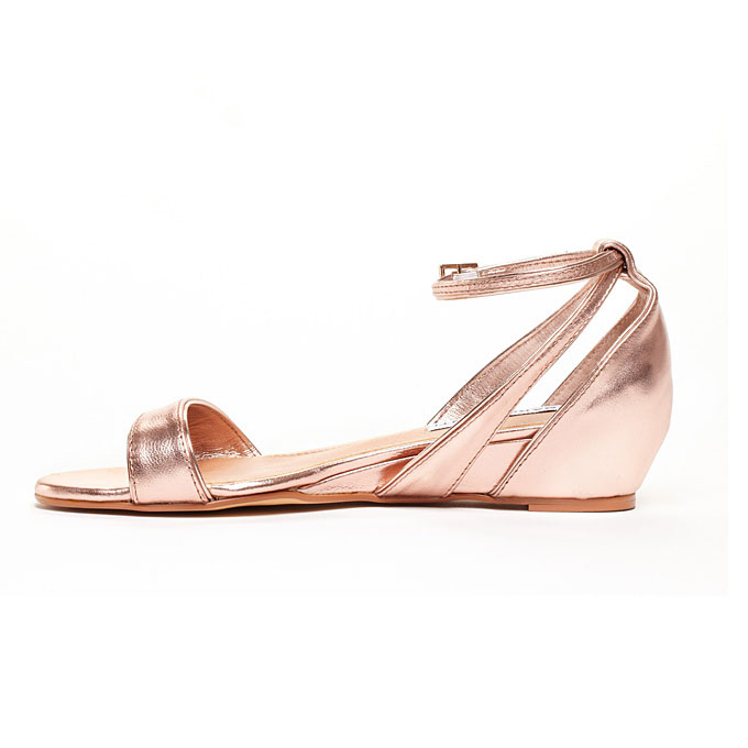 Rose Gold Sandals Craftysandals Com