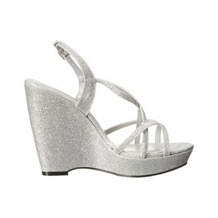 Silver Wedge Sandals Craftysandals Com