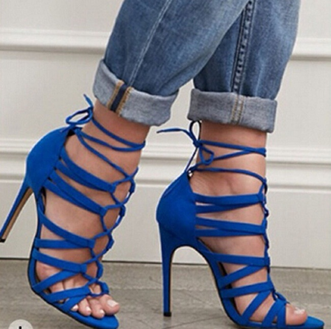 Royal Blue Sandals Craftysandals Com