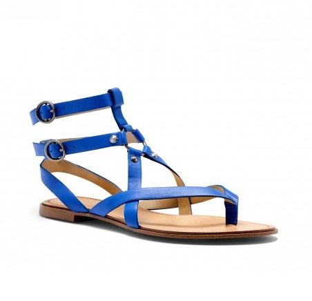 Royal Blue Sandals | CraftySandals.com