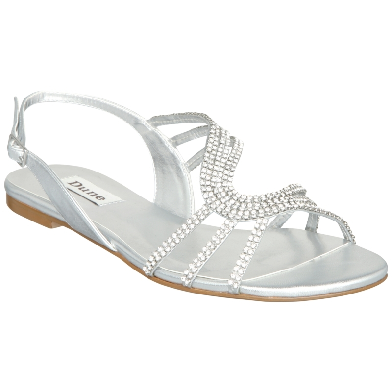 Silver Sandals for Wedding
