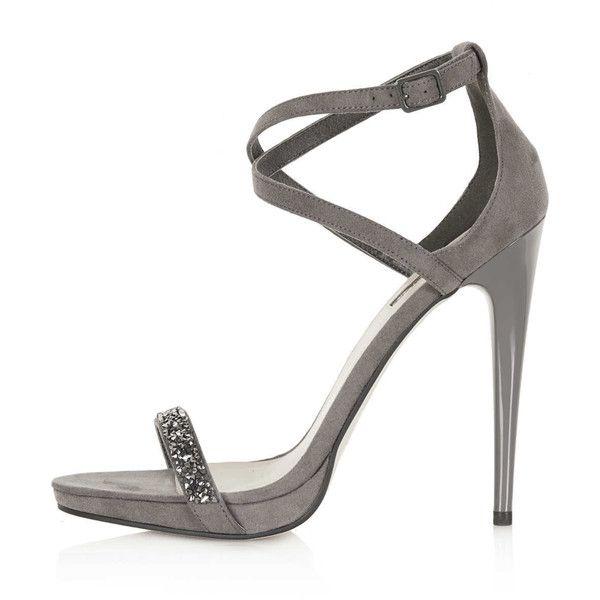 Gray Strappy Sandals | CraftySandals.com